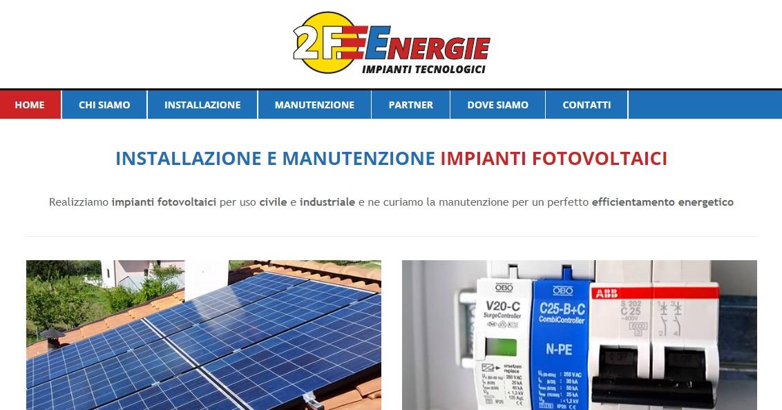 2F Energie, impianti fotovoltaici