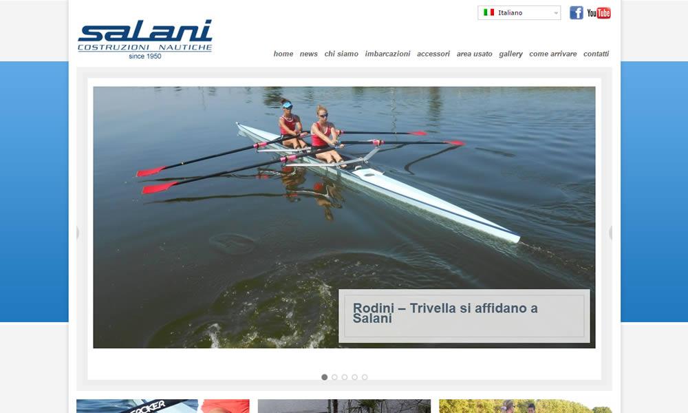Nuovo sito Salani Boats